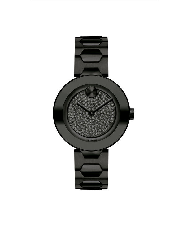 MOVADO Movado Bold3600576 – 32mm BOLD T-Bar with Pave Dial - Front view