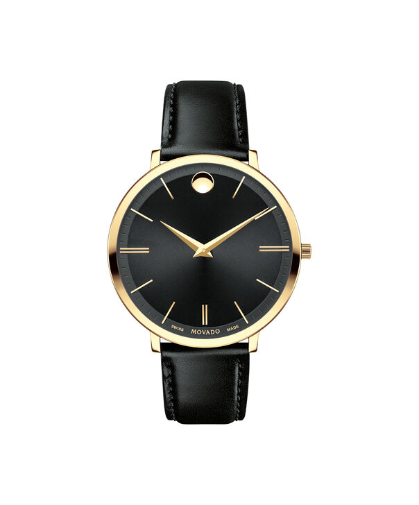 MOVADO Movado Ultra Slim0607091 – Mid-Size 35 mm strap watch - Front view