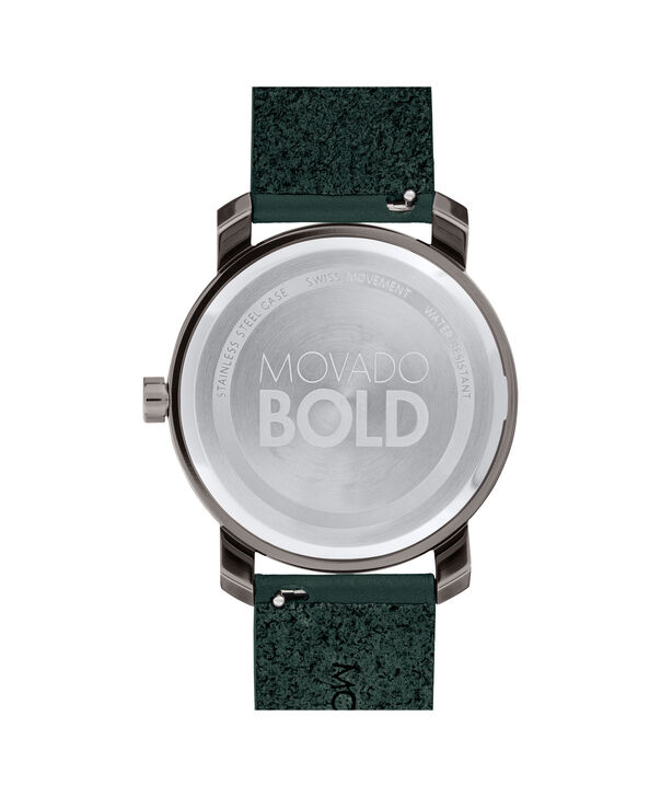MOVADO Movado BOLD3600570 – Men's 41 mm strap watch - Back view