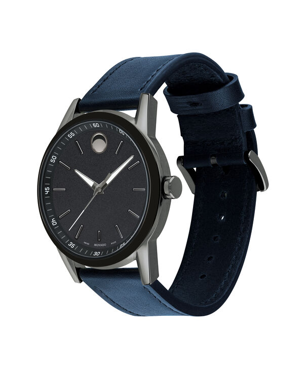 MOVADO Museum Sport0607263 – Men's 42 mm strap watch - Side view