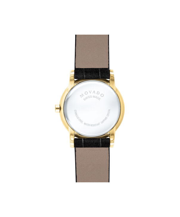 MOVADO Museum Classic0607222 – Women's 28 mm strap watch - Back view