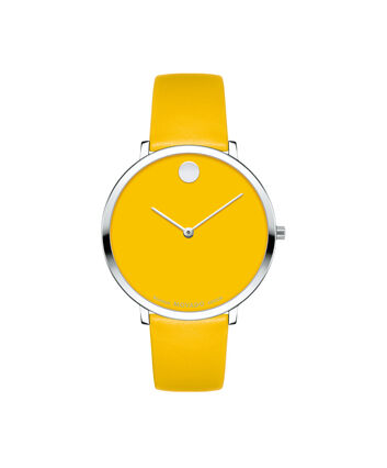 MOVADO Bauhaus Limited Edition0607143 – Mid-Size 35 mm strap watch - Front view