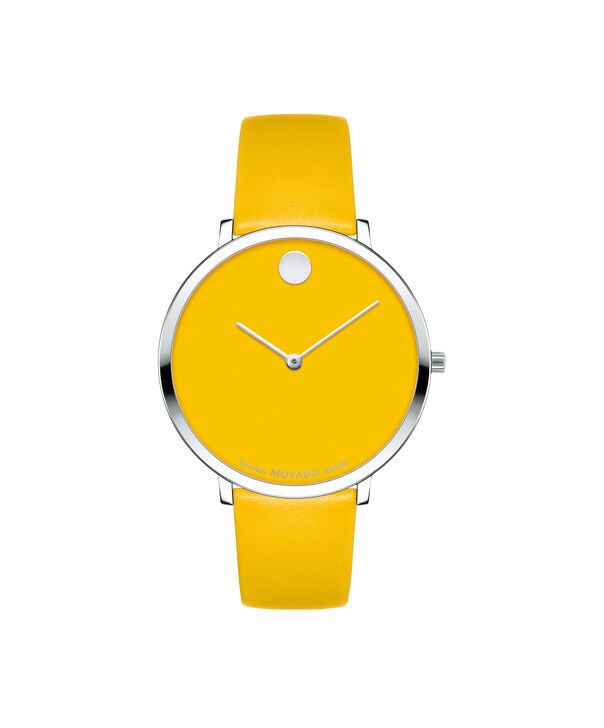 Movado | Movado Women's Mid-size Yellow gold PVD-finished stainless steel watch with yellow dial