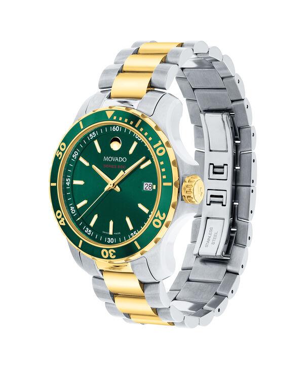 MOVADO Series 8002600147 – Men's 40 mm bracelet watch - Side view