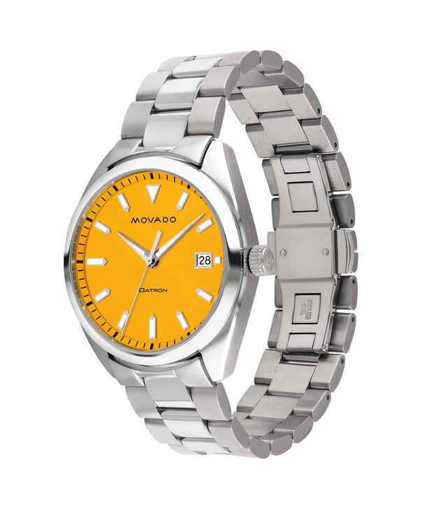 MOVADO Movado Heritage Series3650074 – Men's 39 mm bracelet watch - Side view