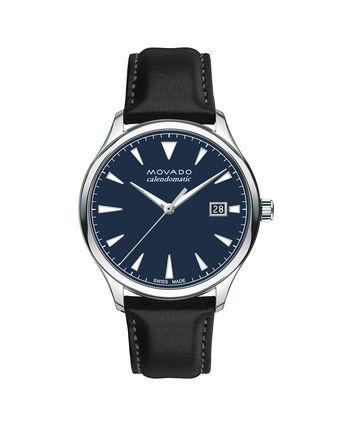 MOVADO Movado Heritage Series3650054 – Men's 40 mm strap watch - Front view