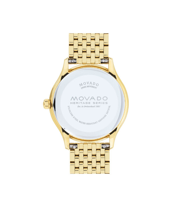 MOVADO Movado Heritage Series3650046 – Women's 36 mm bracelet watch - Back view