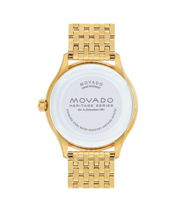 MOVADO Movado Heritage Series3650013 – Men's 40 mm bracelet watch - Back view