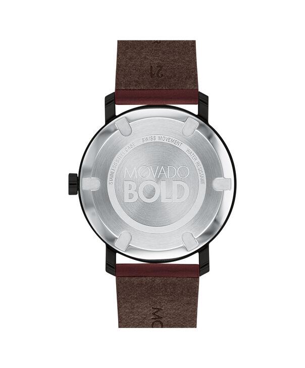 MOVADO Movado BOLD3600525 – Men's 40 mm strap watch - Back view