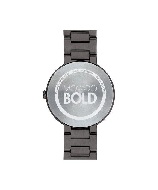 MOVADO Movado BOLD3600500 – 34 mm Metals bracelet watch - Back view