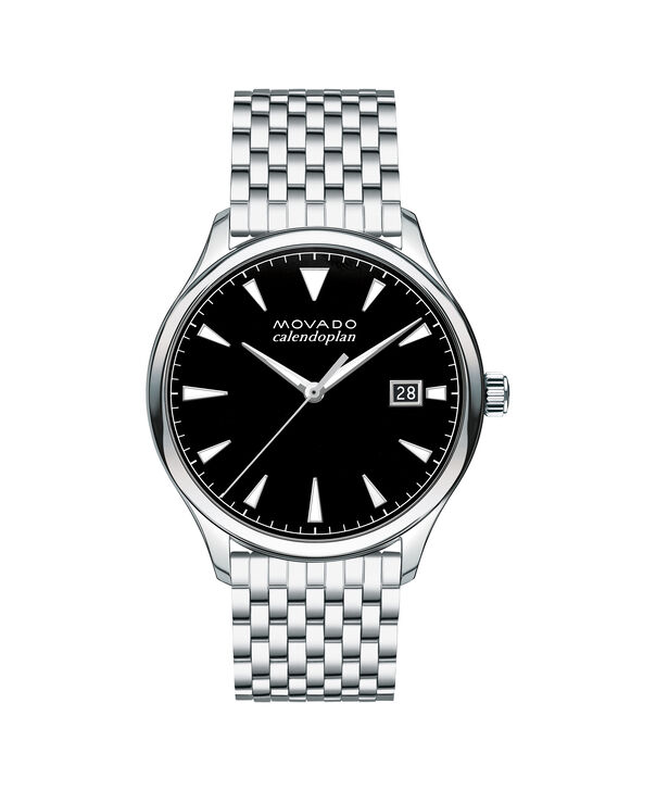 MOVADO Movado Heritage Series3650012 – Men's 40 mm bracelet watch - Front view
