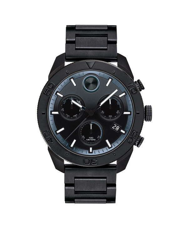 MOVADO Movado BOLD3600514 – 44.5 mm BOLD Sport strap watch - Front view