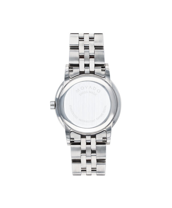 MOVADO Museum Classic0607207 – Women's 28 mm bracelet watch - Back view