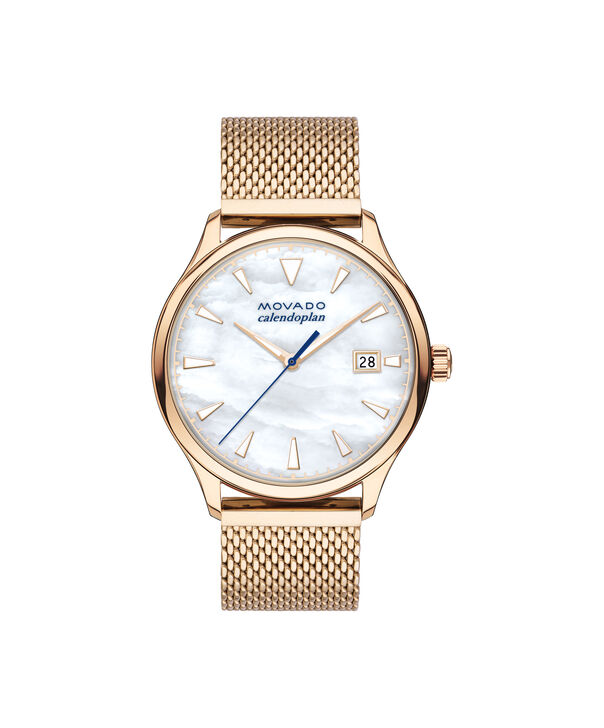 MOVADO Movado Heritage Series3650090 – 36mm Heritage Calendoplan 3H - Front view