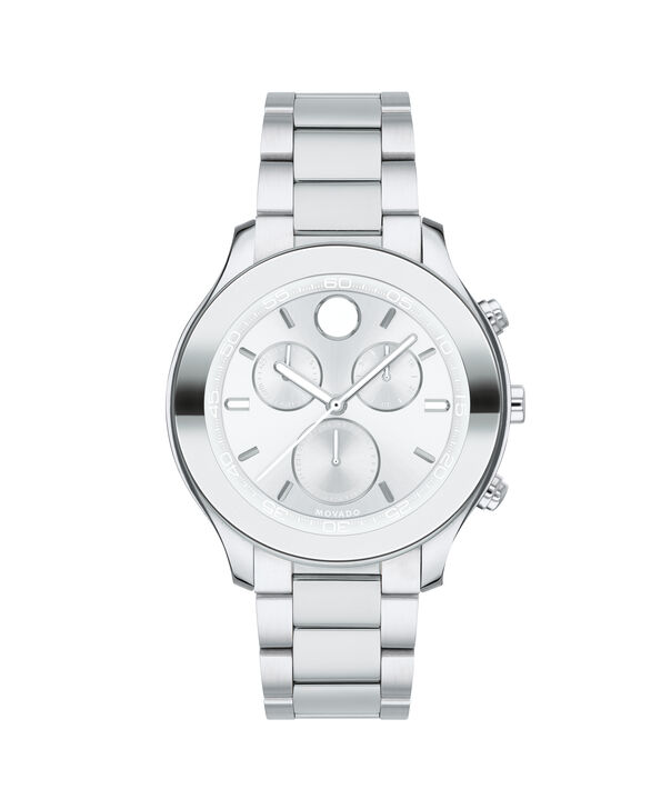 MOVADO Movado BOLD3600545 – 39 mm Metals bracelet watch - Front view