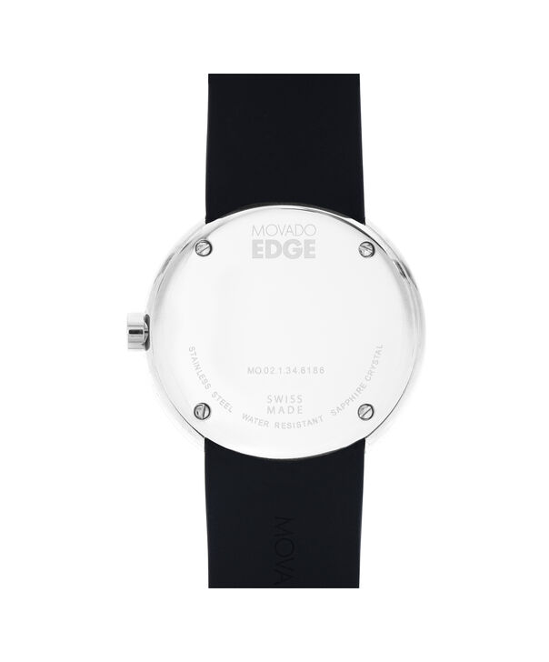 MOVADO Movado Edge3680004 – Men's 40 mm strap watch. Delivery by end of October. - Back view