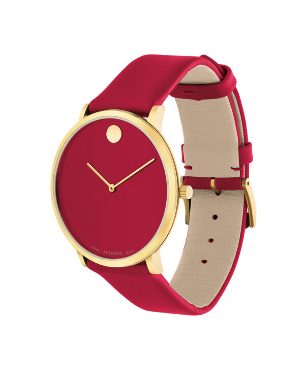 MOVADO Modern 470607253 – Movado.com EXCLUSIVE 40mm strap watch - Side view