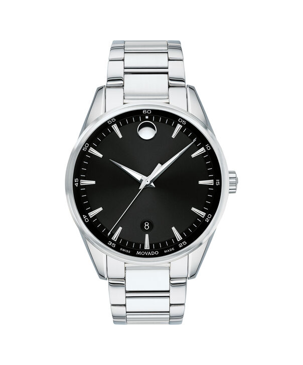 MOVADO Stratus0607243 – Men's 40 mm bracelet watch - Front view