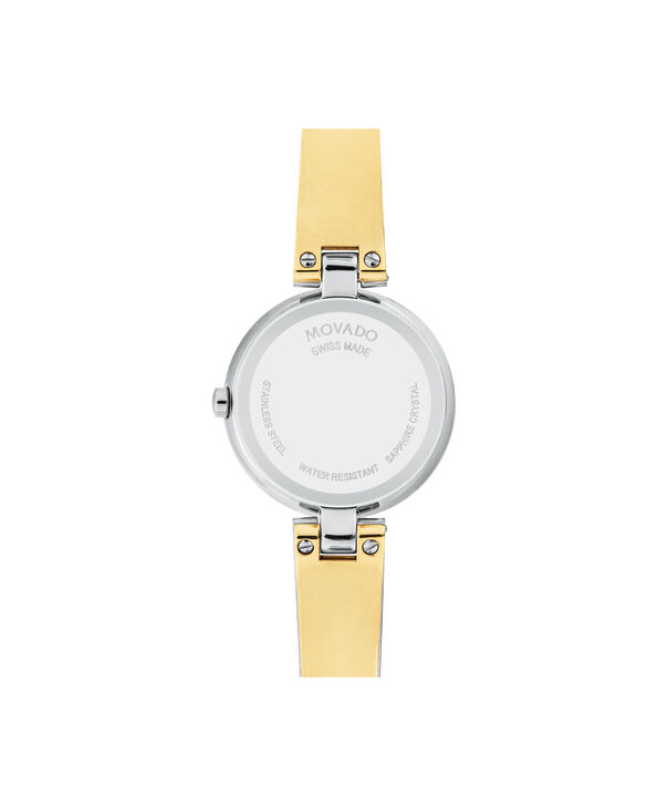 MOVADO Aleena0607159 – Women's 27 mm bangle watch - Back view
