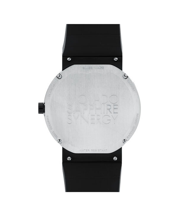 MOVADO Sapphire Synergy0606780 – Men's 42 mm strap watch - Back view