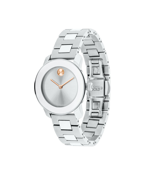 MOVADO Movado BOLD3600433 – 30 mm Metals bracelet watch - Side view