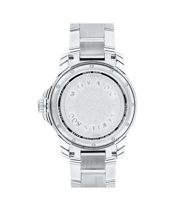 MOVADO Series 8002600136 – Men's 40 mm bracelet watch - Back view