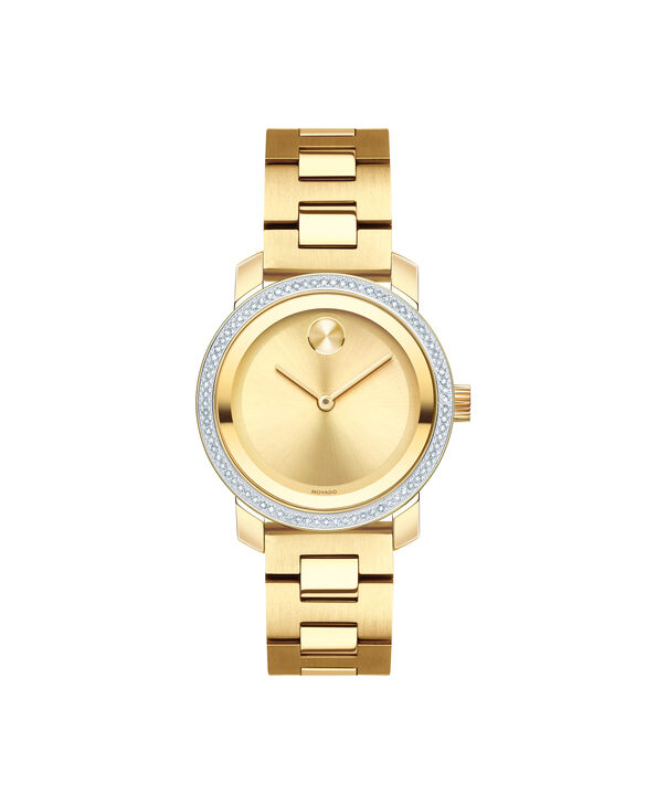 MOVADO Movado BOLD3600440 – 30 mm Diamonds bracelet watch - Front view
