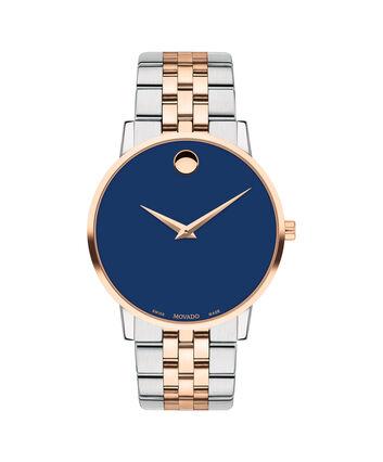 MOVADO Museum Classic0607267 – Men's 40 mm bracelet watch - Front view