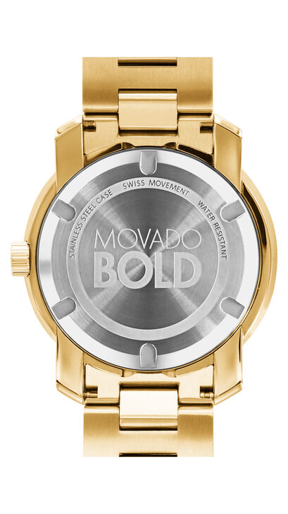 MOVADO Movado BOLD3600258 – 42.5 mm Metals bracelet watch - Back view