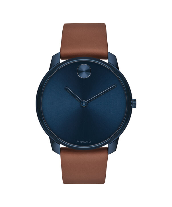 MOVADO Movado Bold3600585 – 42mm BOLD Thin on Strap - Front view