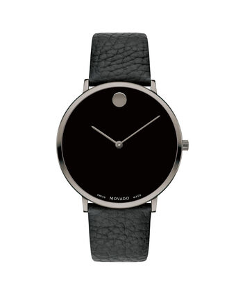 MOVADO Modern 470607334 – 40 mm Modern 47 on Textured Strap - Front view