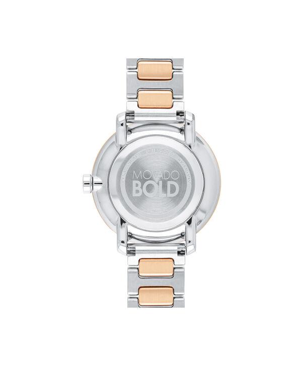MOVADO Movado BOLD3600504 – 34 mm Metals bracelet watch - Back view