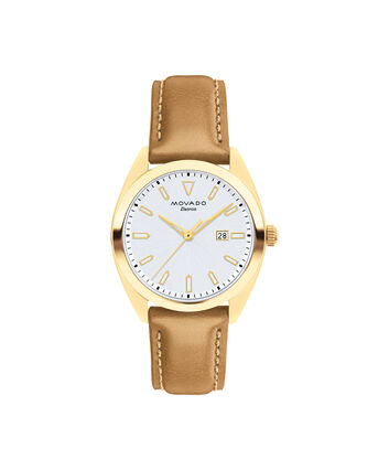 MOVADO Movado Heritage Series3650036 – Women's 31 mm strap watch - Front view