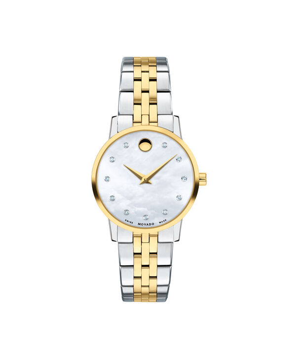 MOVADO Museum Classic0607208 – Women's 28 mm bracelet watch - Front view
