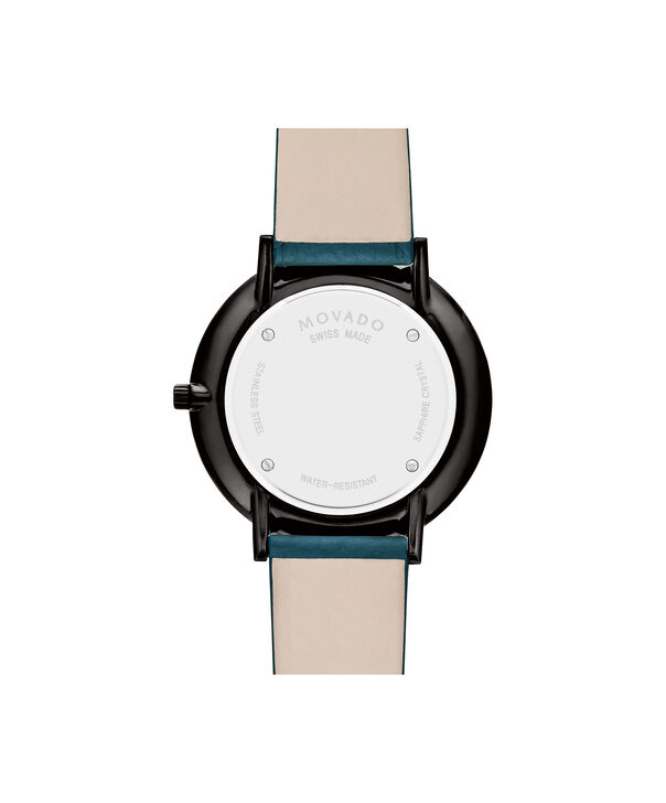 MOVADO Modern 470607342 – 35 mm Modern 47 on Textured Strap - Back view