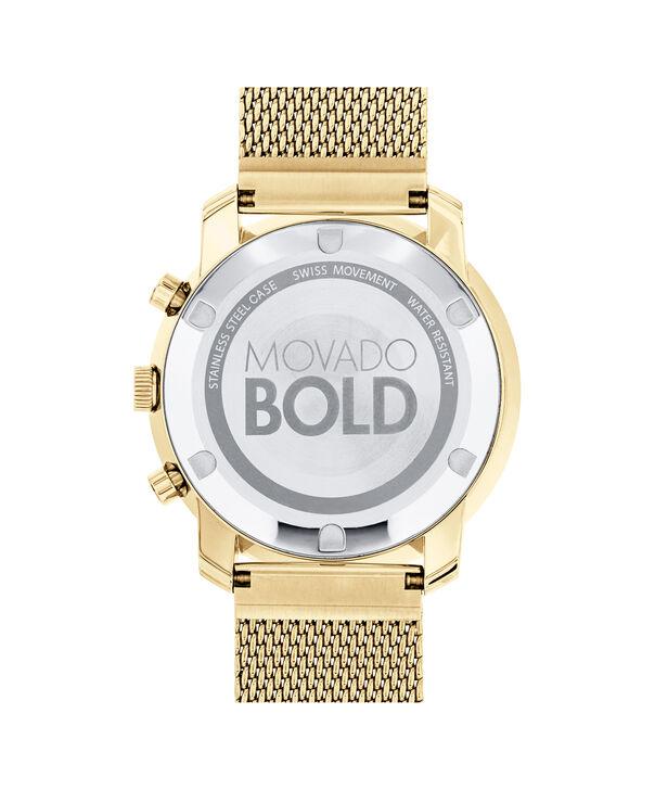 MOVADO Movado BOLD3600372 – 44 mm flat mesh bracelet chrono - Back view