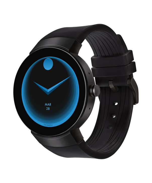 MOVADO Movado Connect3660018 – 46.5 mm display smartwatch - Side view