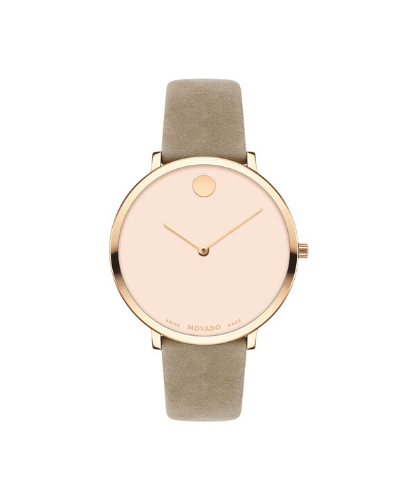 MOVADO Modern 470607346 – 35 mm Modern 47 on Strap - Front view
