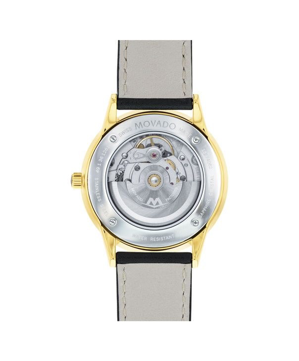 MOVADO 1881 Automatic0606875 – Men's 39.5 mm automatic 3-hand - Back view