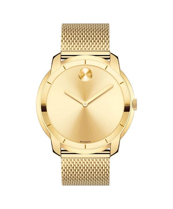 MOVADO Movado BOLD3600373 – 44 mm flat mesh bracelet watch - Front view