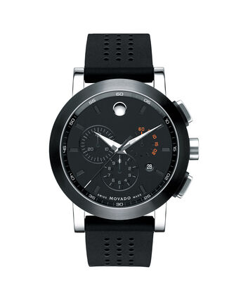 MOVADO Museum Sport0606545 – Men's 44 mm strap chronograph - Front view