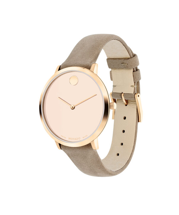 MOVADO Modern 470607346 – 35 mm Modern 47 on Strap - Side view