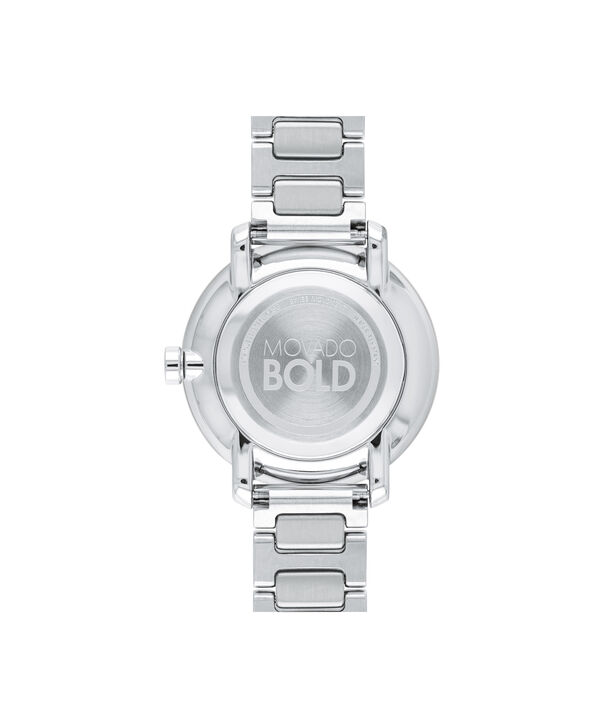 MOVADO Movado BOLD3600501 – 34 mm Metals bracelet watch - Back view