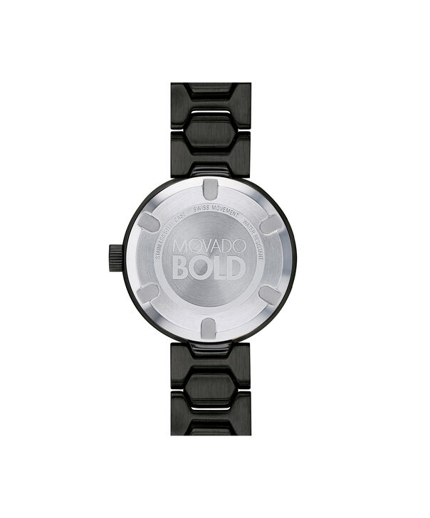 MOVADO Movado Bold3600576 – 32mm BOLD T-Bar with Pave Dial - Back view