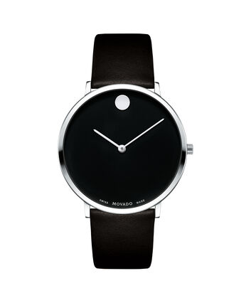 MOVADO Movado NGH0607262 – Movado.com EXCLUSIVE 40mm strap watch - Front view