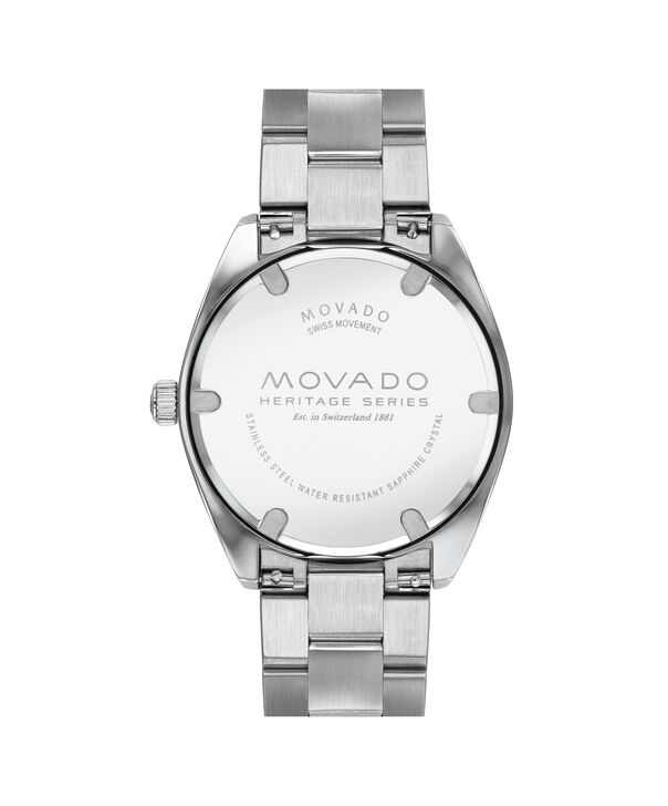 MOVADO Movado Heritage Series3650074 – Men's 39 mm bracelet watch - Back view