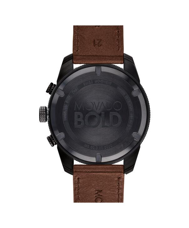 MOVADO Movado BOLD3600515 – 44.5 mm BOLD Sport strap watch - Back view