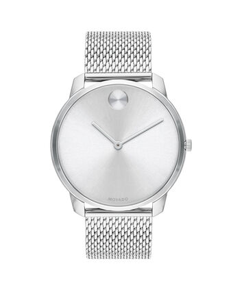 MOVADO Movado BOLD3600589 – 42mm BOLD Thin on Mesh - Front view