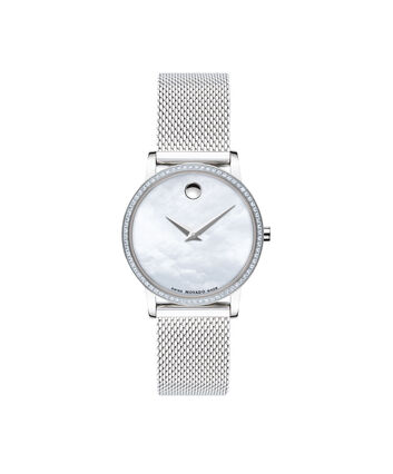 MOVADO Museum Classic0607306 – Women's 28 mm mesh bracelet watch - Front view