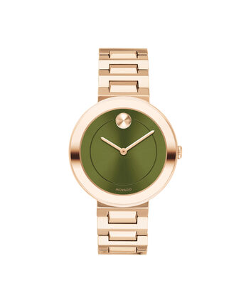 MOVADO Movado BOLD3600569 – 34 mm Metals bracelet watch - Front view